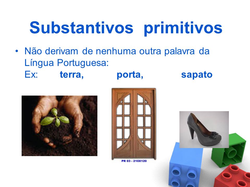 Substantivos primitivos