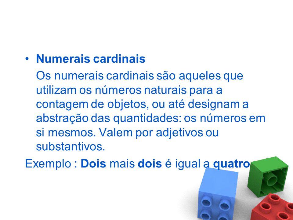 Numerais cardinais