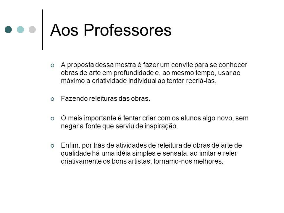 Aos Professores