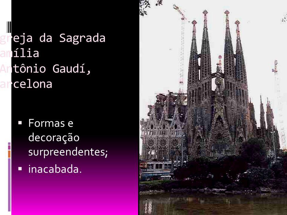 Igreja da Sagrada Família Antônio Gaudí, Barcelona