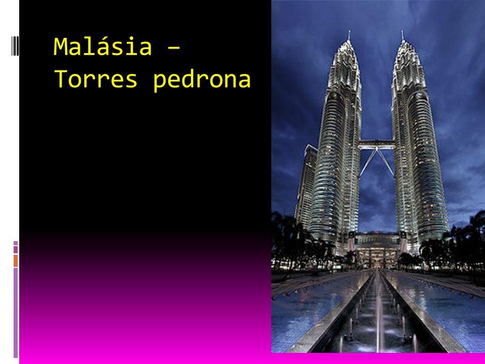 Malásia – Torres pedrona