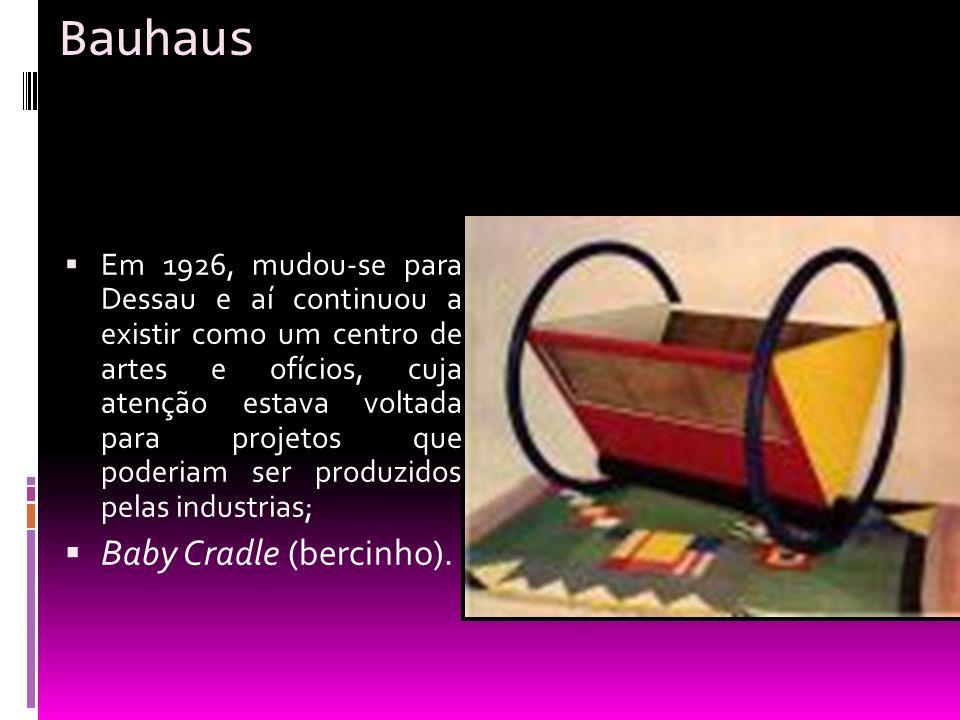 Bauhaus Baby Cradle (bercinho).