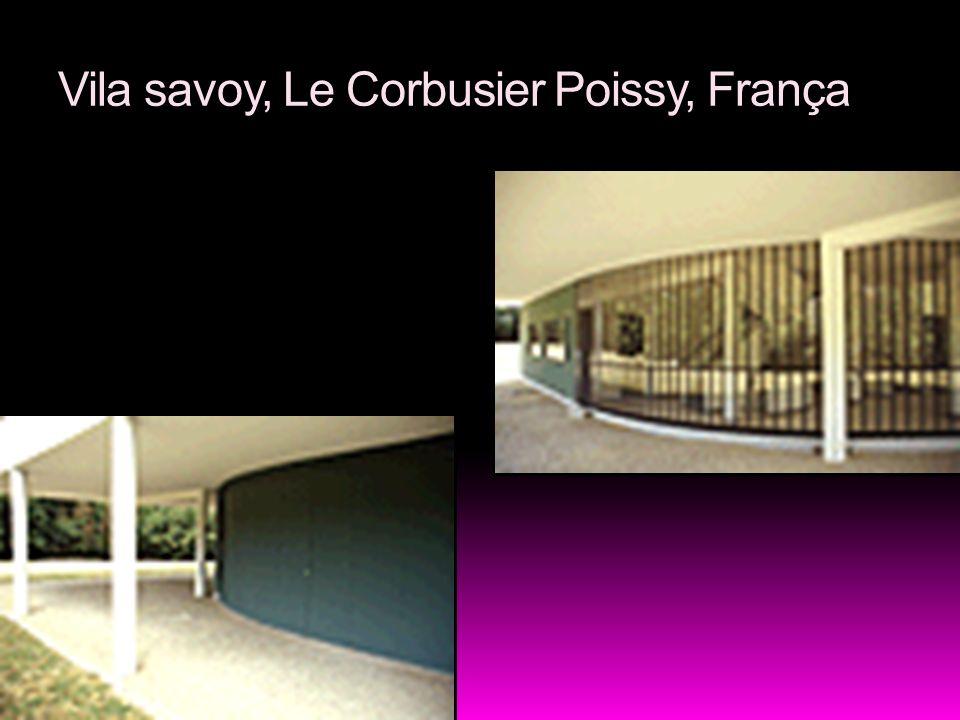 Vila savoy, Le Corbusier Poissy, França
