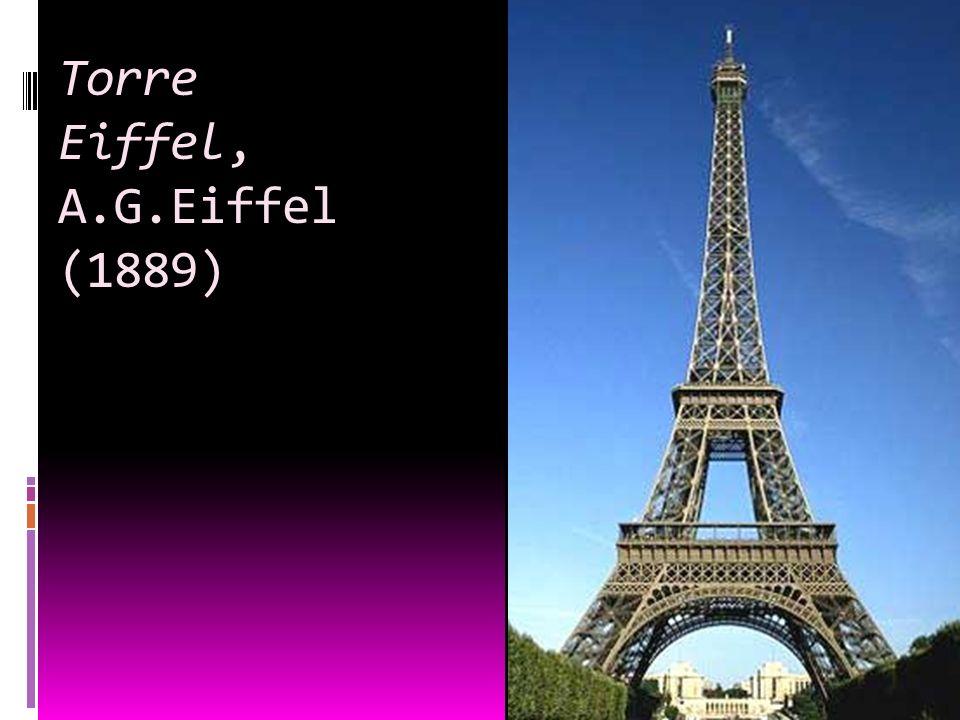 Torre Eiffel, A.G.Eiffel (1889)