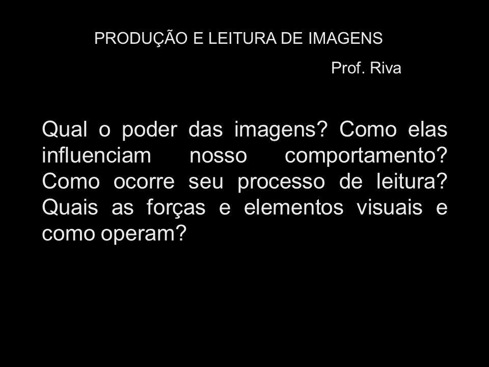 PRODUÇÃO E LEITURA DE IMAGENS
