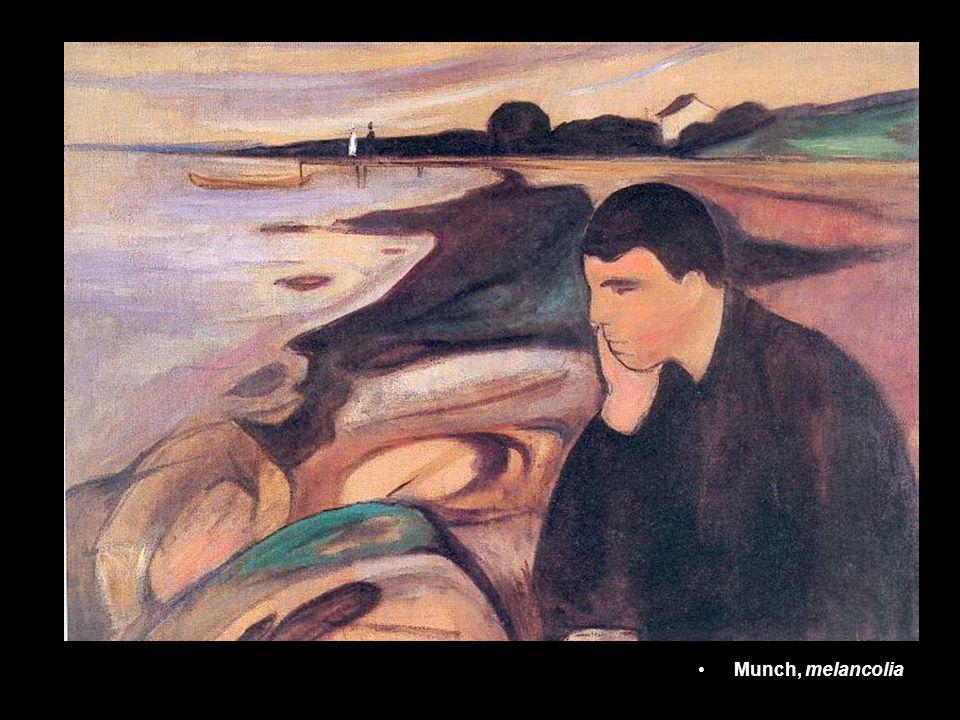 Munch, melancolia