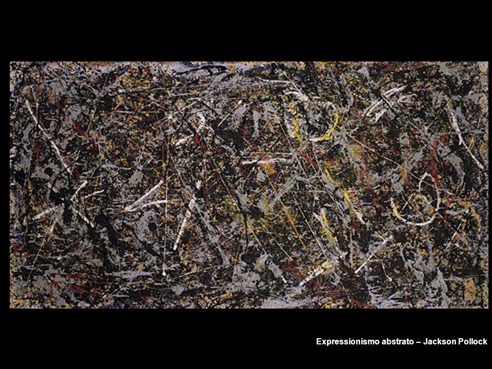 Expressionismo abstrato – Jackson Pollock