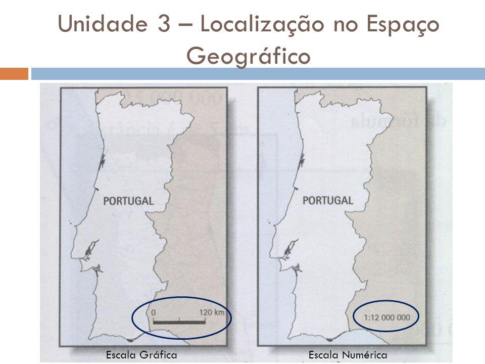 Unidade 3 – Localização no Espaço Geográfico