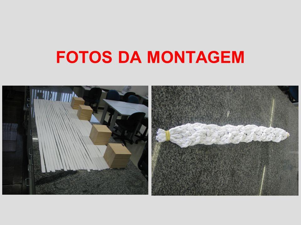 FOTOS DA MONTAGEM