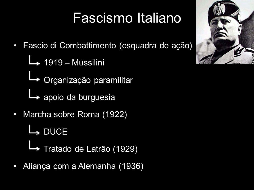 Fascismo Italiano Fascio di Combattimento (esquadra de ação)