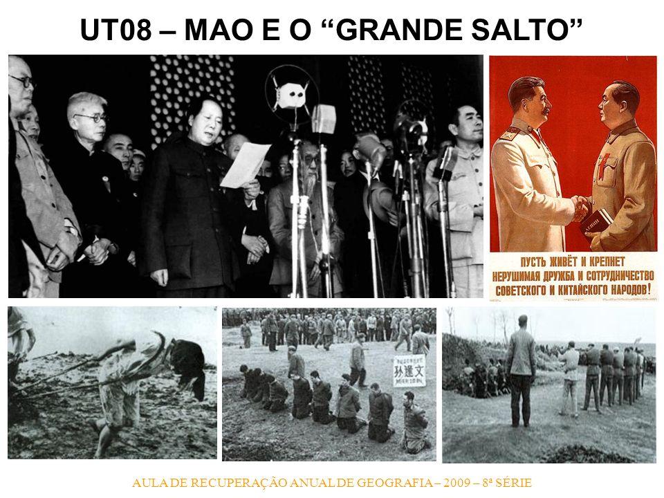 UT08 – MAO E O GRANDE SALTO
