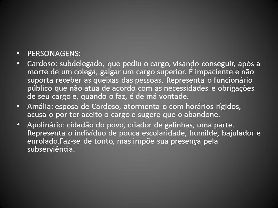 PERSONAGENS:
