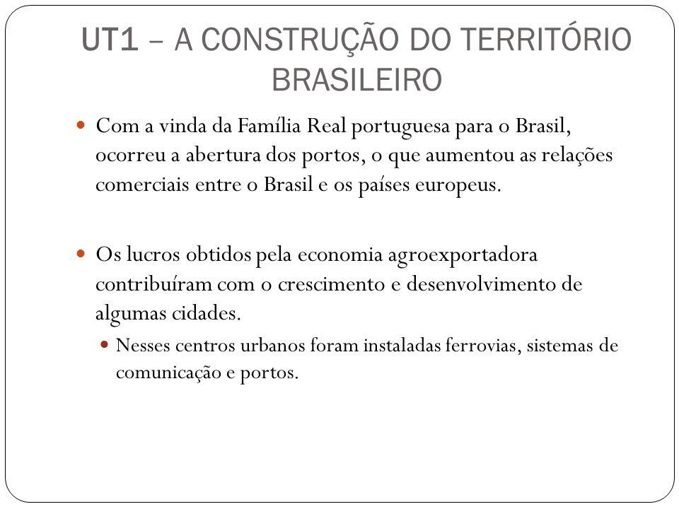 UT1 – A CONSTRUÇÃO DO TERRITÓRIO BRASILEIRO