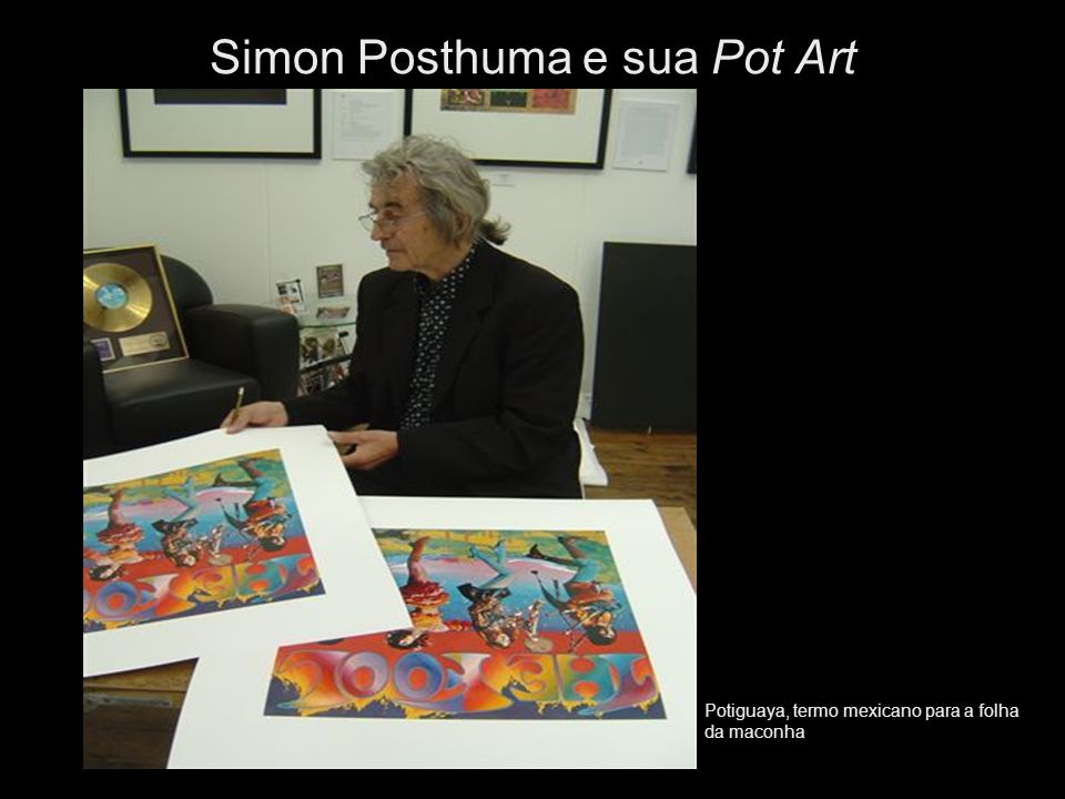 Simon Posthuma e sua Pot Art