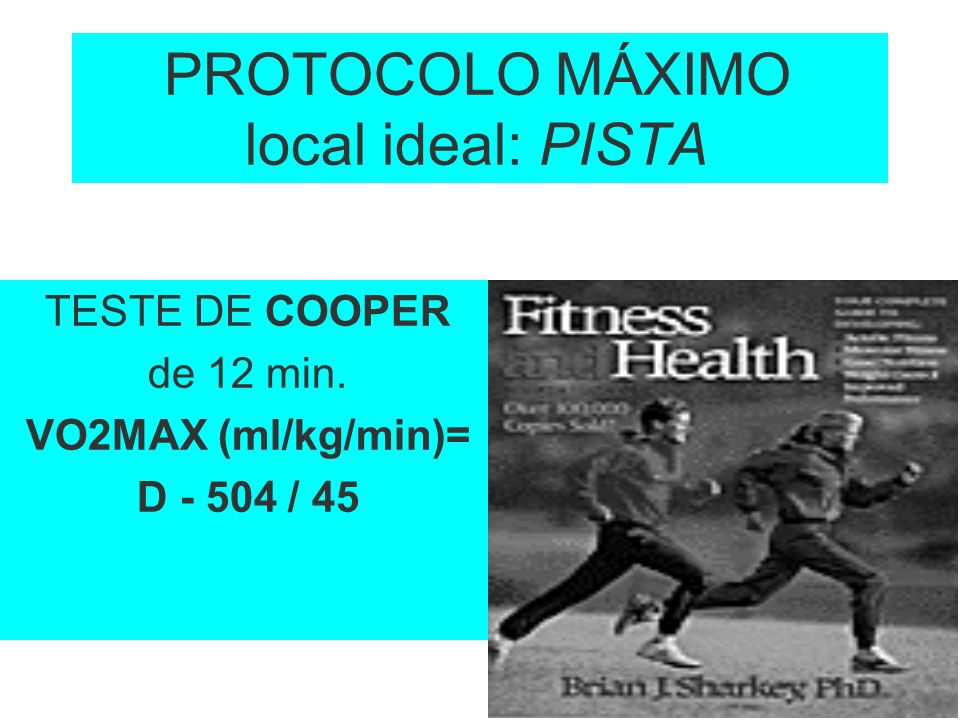 PROTOCOLO MÁXIMO local ideal: PISTA