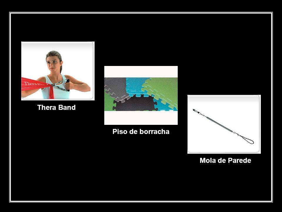 Thera Band Piso de borracha Mola de Parede