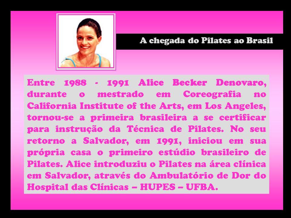 A chegada do Pilates ao Brasil