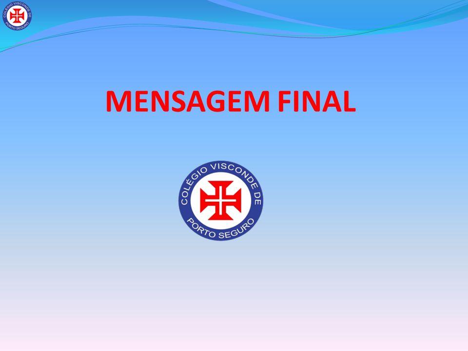 MENSAGEM FINAL