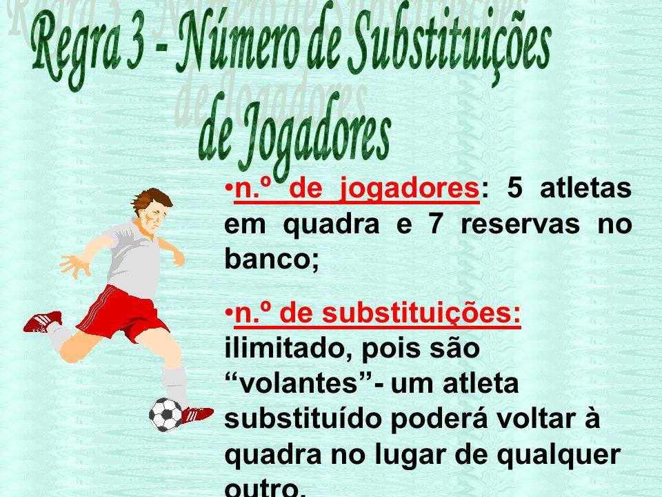 Regra 3 - Número de Substituições