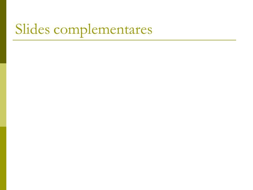 Slides complementares