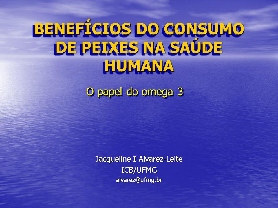 BENEFÍCIOS DO CONSUMO DE PEIXES NA SAÚDE HUMANA