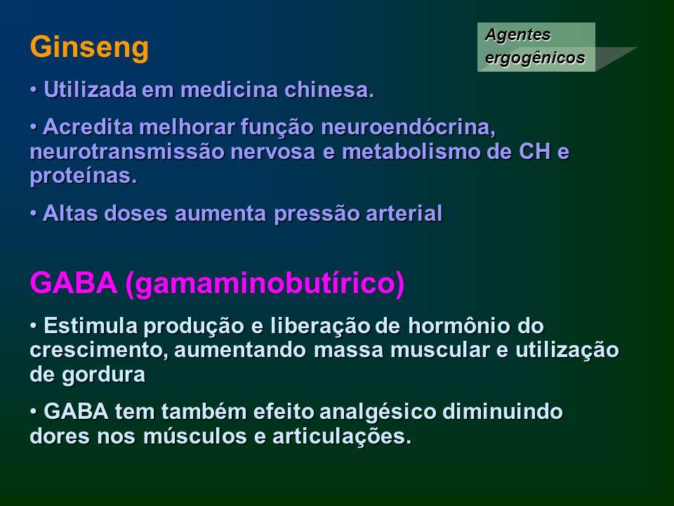 GABA (gamaminobutírico)