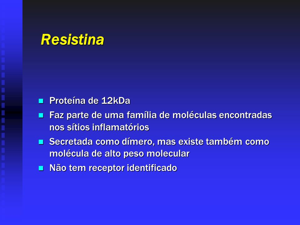 Resistina Proteína de 12kDa