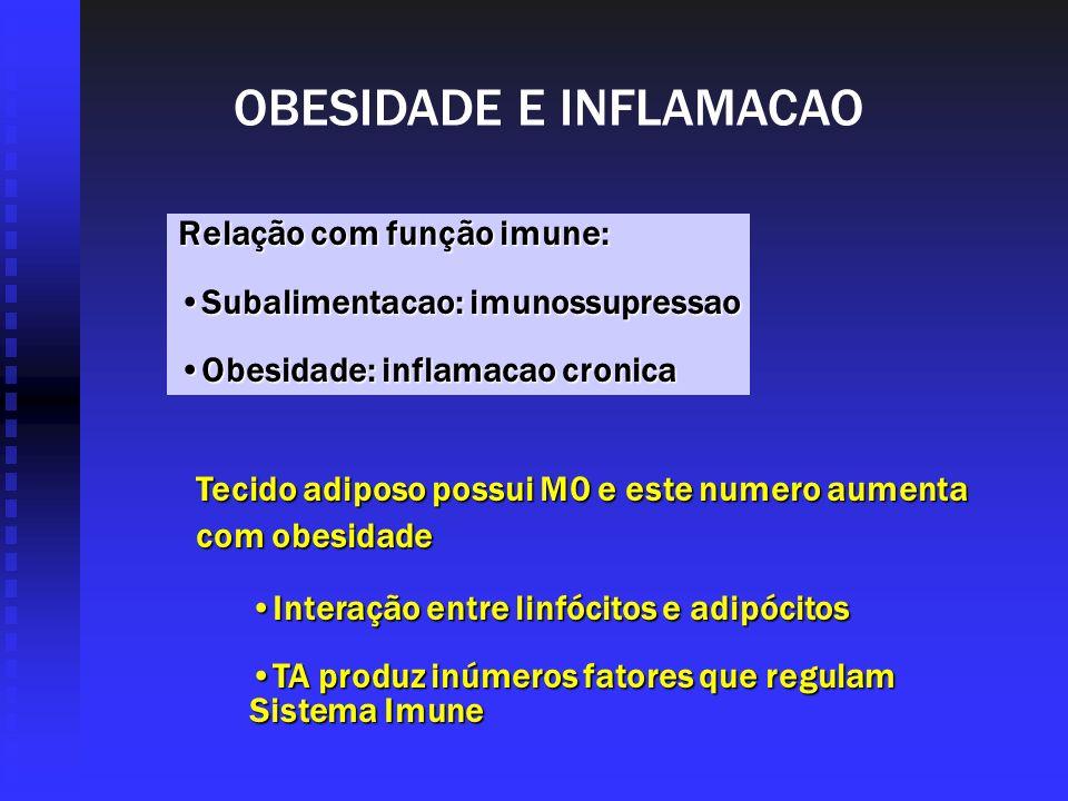 OBESIDADE E INFLAMACAO