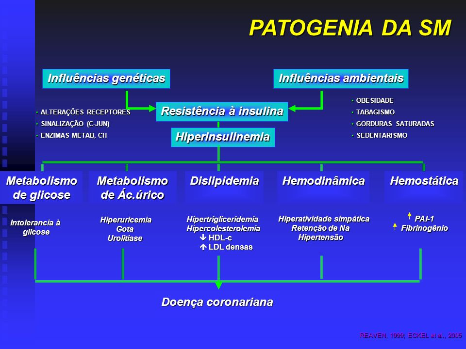 PATOGENIA DA SM Influências genéticas Influências ambientais
