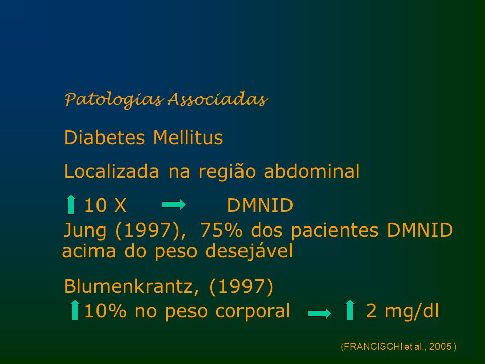 Localizada na região abdominal 10 X DMNID