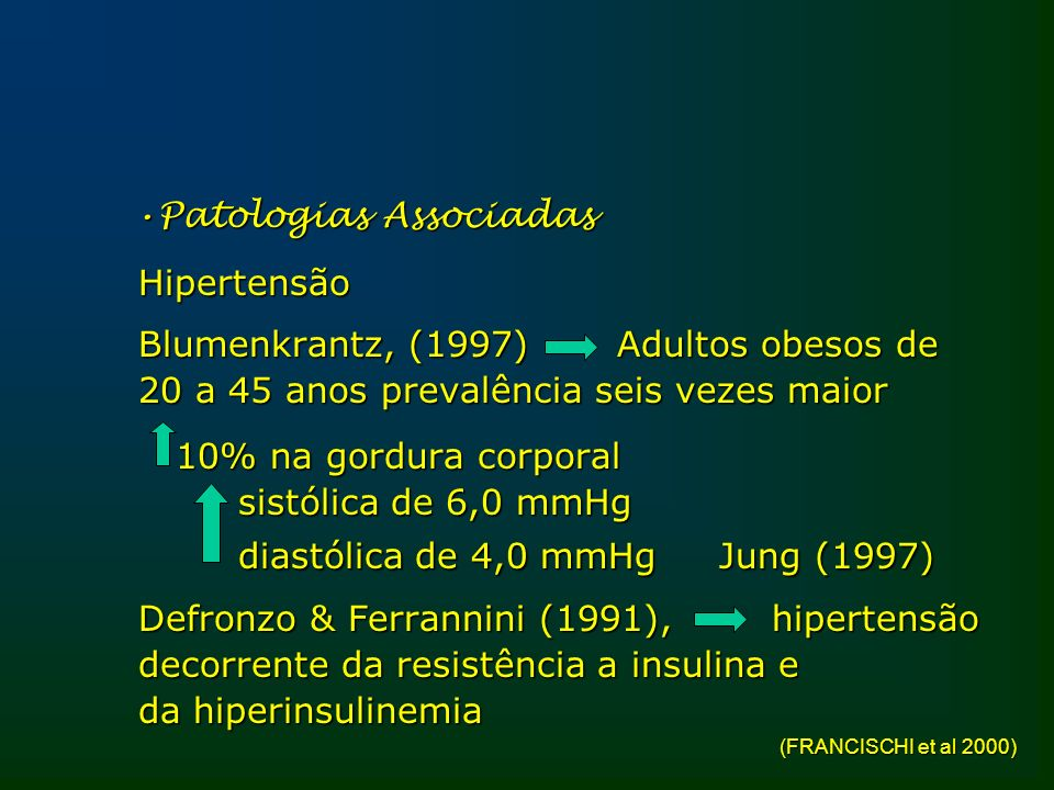 Patologias Associadas Hipertensão