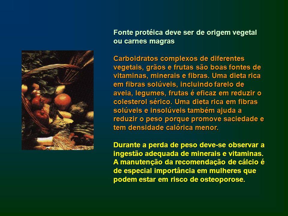 Fonte protéica deve ser de origem vegetal ou carnes magras