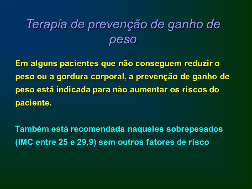 Terapia de prevenção de ganho de peso