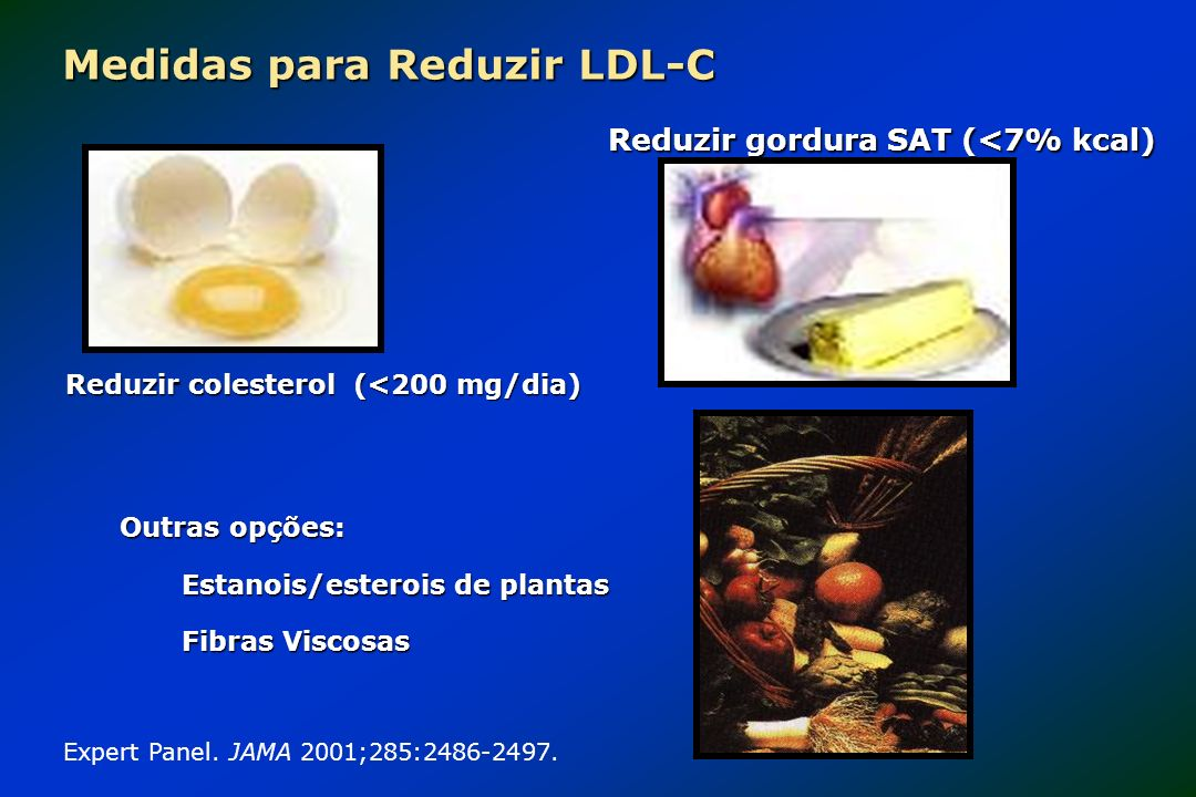 Medidas para Reduzir LDL-C