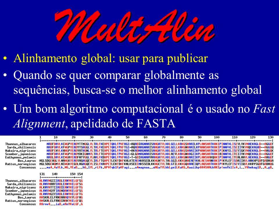 Alinhamento global: usar para publicar
