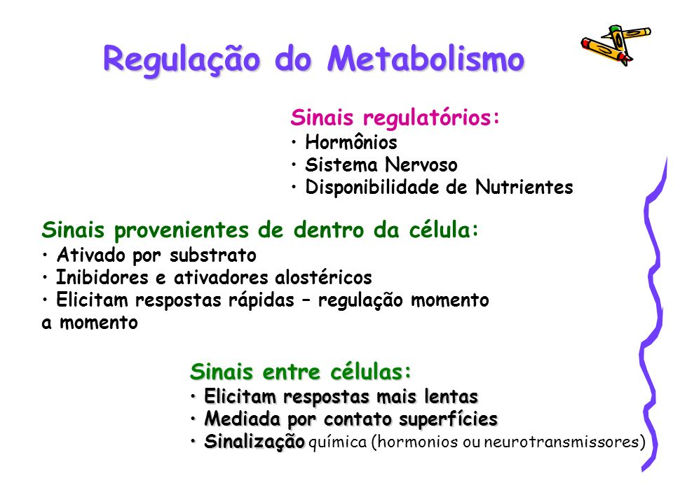 Regulação do Metabolismo