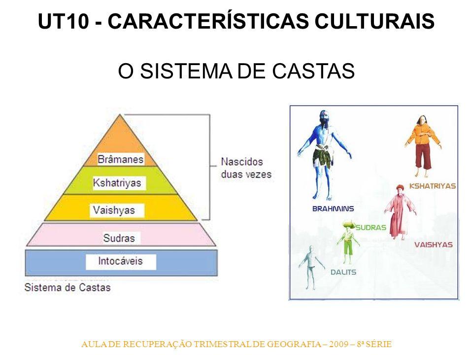 UT10 - CARACTERÍSTICAS CULTURAIS