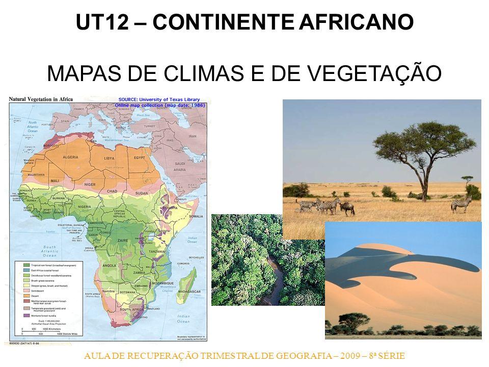 UT12 – CONTINENTE AFRICANO