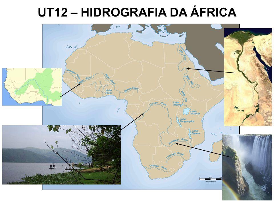 UT12 – HIDROGRAFIA DA ÁFRICA