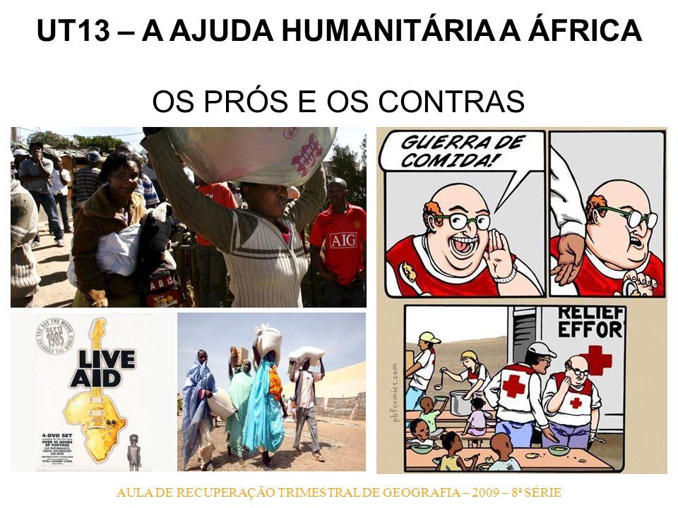 UT13 – A AJUDA HUMANITÁRIA A ÁFRICA