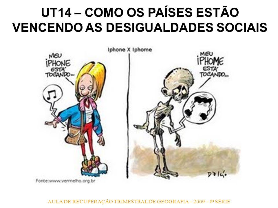 UT14 – COMO OS PAÍSES ESTÃO VENCENDO AS DESIGUALDADES SOCIAIS
