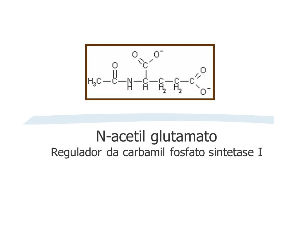 Regulador da carbamil fosfato sintetase I