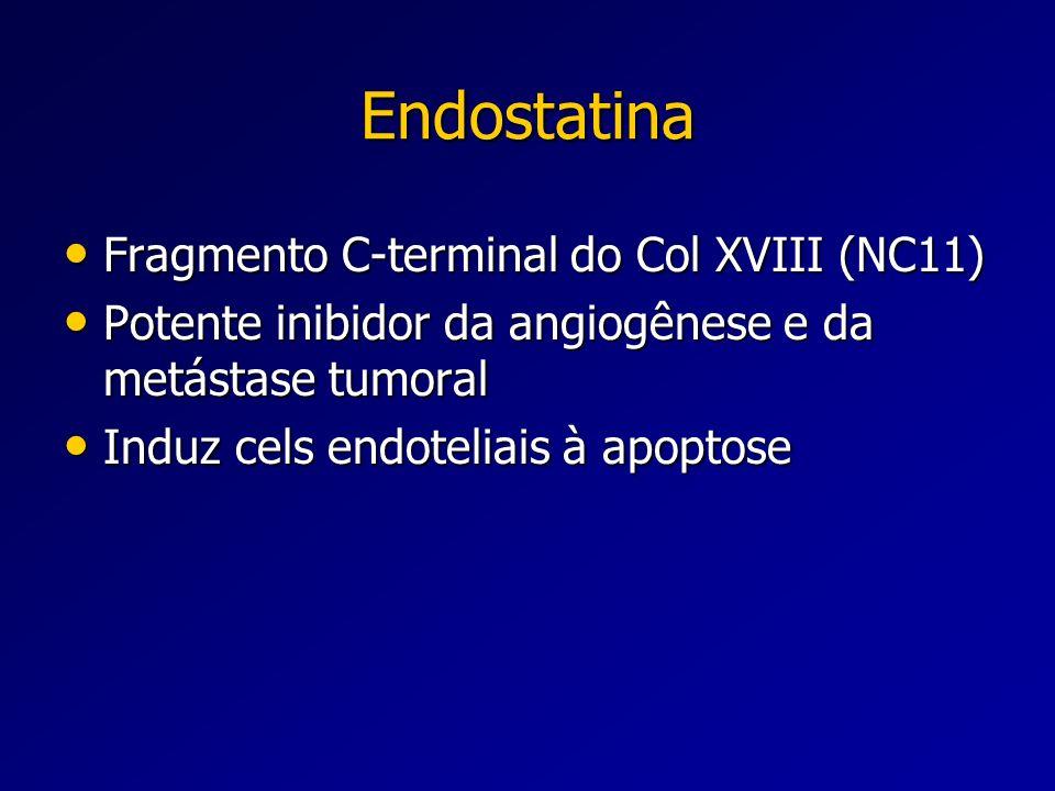 Endostatina Fragmento C-terminal do Col XVIII (NC11)
