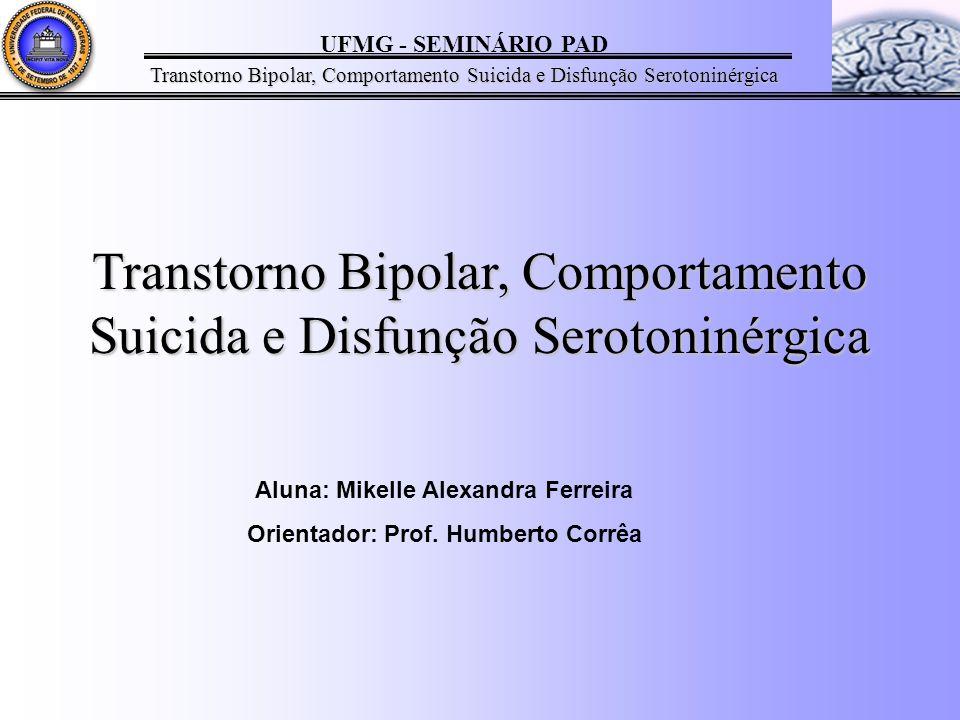 Aluna: Mikelle Alexandra Ferreira Orientador: Prof. Humberto Corrêa