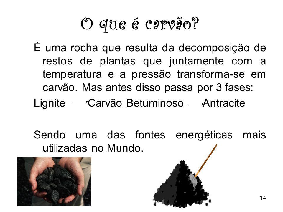 O que é carvão