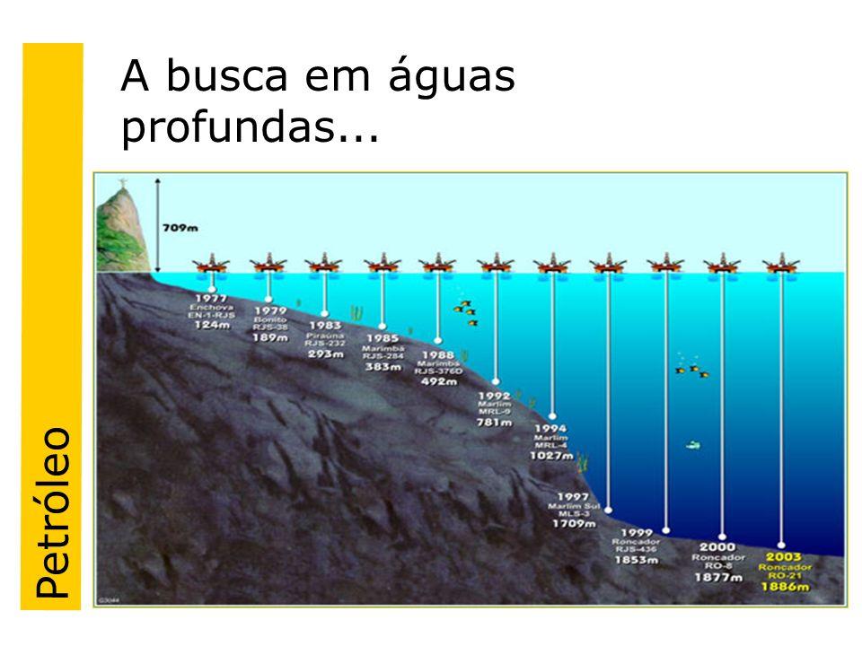 A busca em águas profundas...