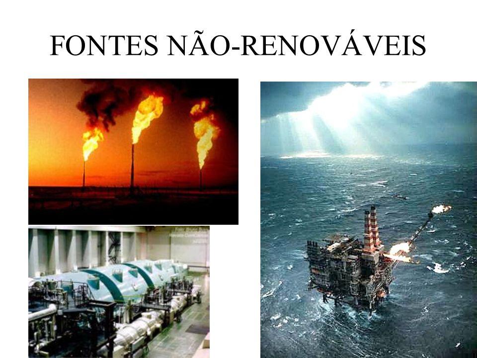 FONTES NÃO-RENOVÁVEIS