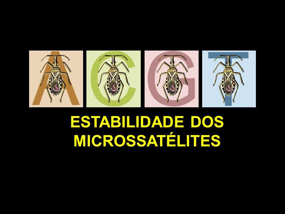 ESTABILIDADE DOS MICROSSATÉLITES