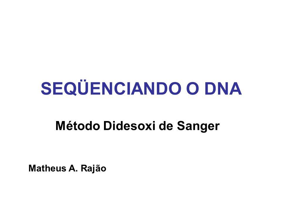 Método Didesoxi de Sanger