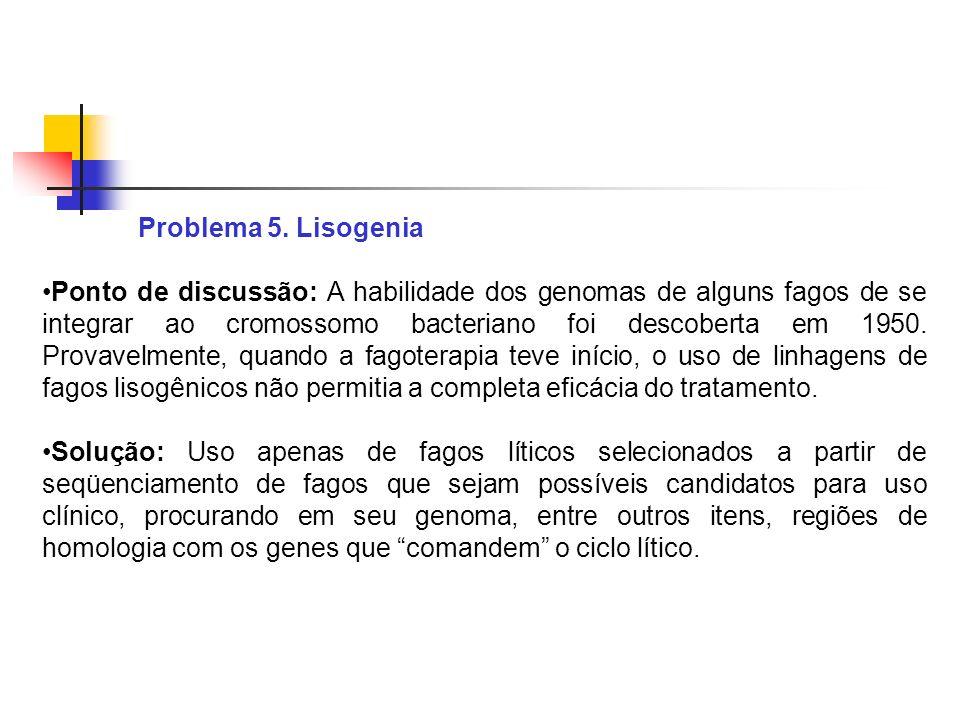 Problema 5. Lisogenia
